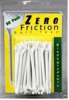 "100 2 3/4""  Zero Friction golf tees  -  White"