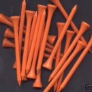 "500  2 3/4""  golf  tees -  Orange"