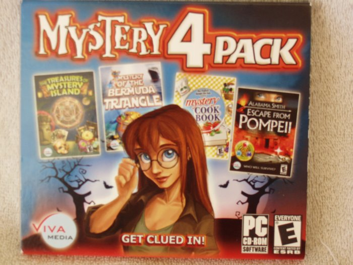2 Mystery 4 Pack pc games  Free Shipping