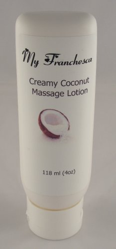 My Franchesca 6 oz French Vanilla scented Massage Lotion