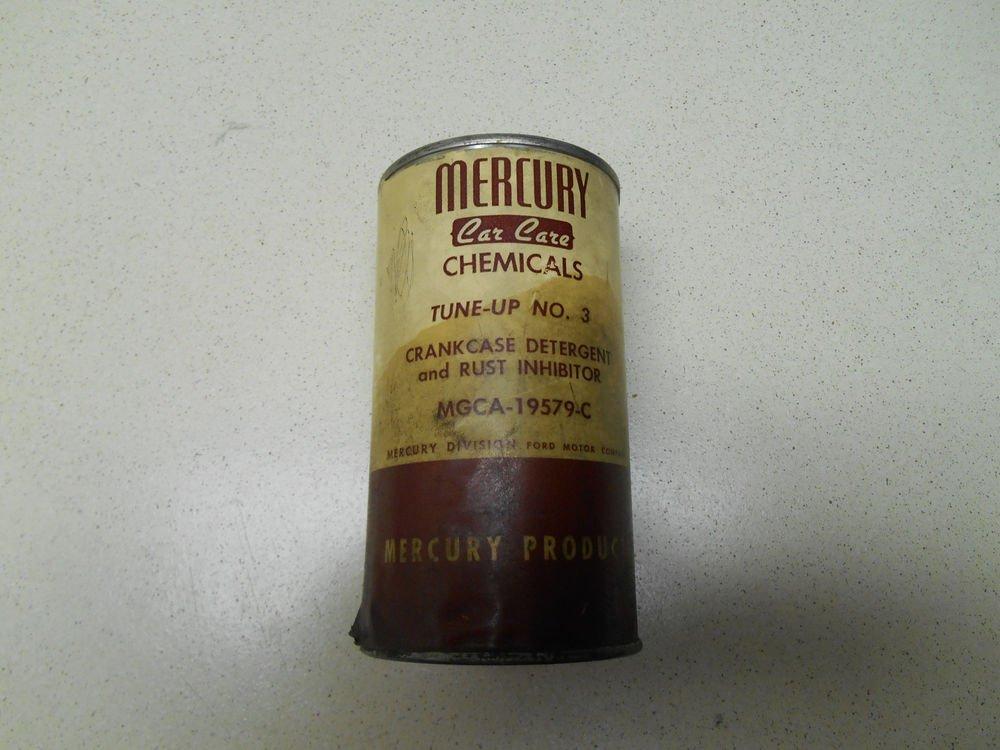MERCURY FUEL DETERGENT MGCA-19579-13 vintage, not for use