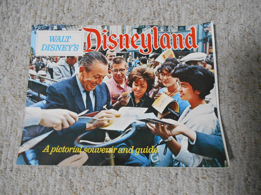 Disneyland pictoral souvenir and pictoral guide from 1968