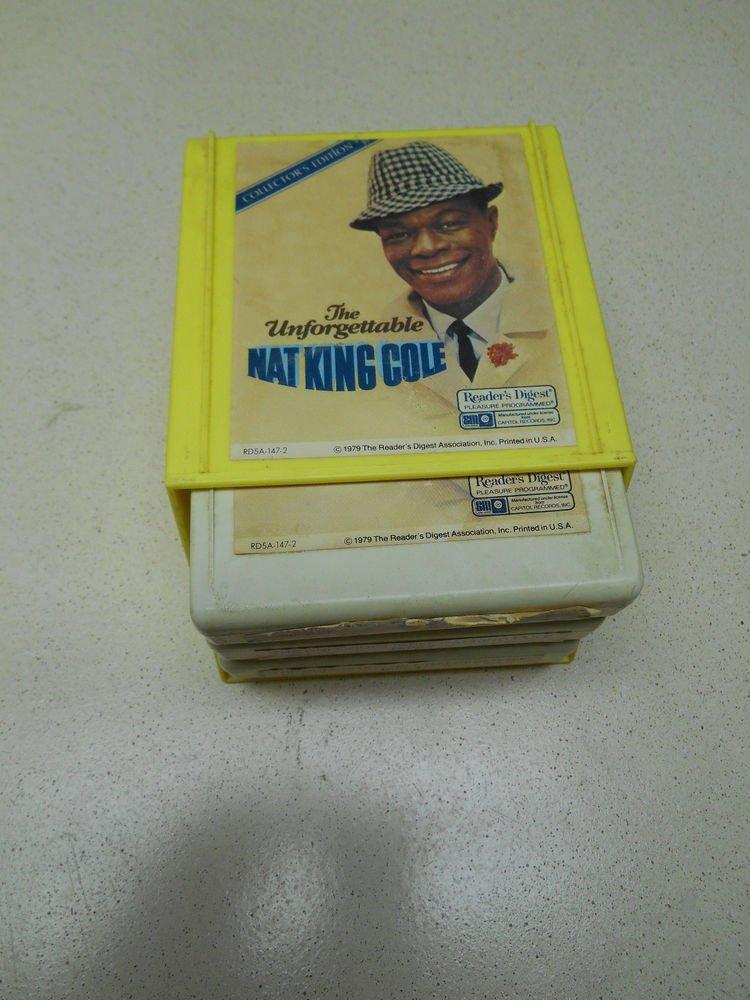 The Unforgettable Nat King Cole Vintage 3 Tape Set