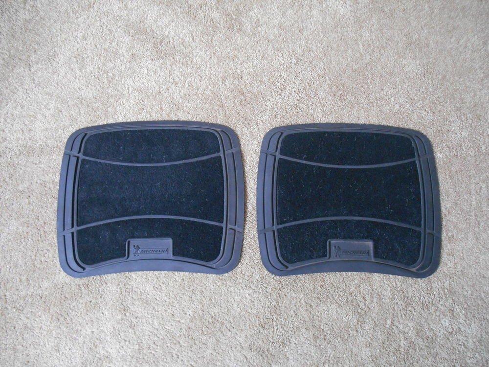Pair of Michelin Rear Floor Mats