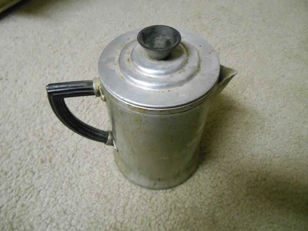 Vintage Aluminum Wear ever pot  956