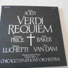 Verdi Requiem Chicago Symphony Orchestra Margaret Hillis, 2 LP set, ARL2-2476
