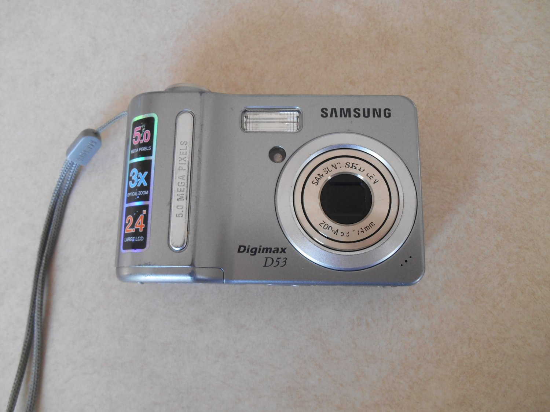 samsung digimax d53 5 1 mp digital camera silver rh drewmark ecrater com Samsung Digital Camera Review Samsung Digital Camera Review