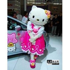 Hello Kitty Plush Costume XZ005