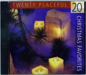 20 PEACEFUL CHRISTMAS FAVORITES New CD