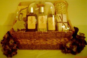 Lavender & Mimosa Spa Gift Baskets