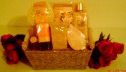 Rose & Sandalwood Spa Gift Basket