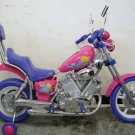 Harley Style, Battery Power Ride on Toys Motorcycle - Pink