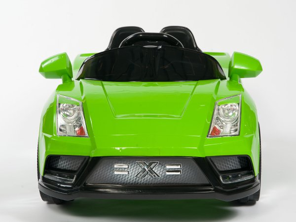 Lamborghini Style, Racer X, Kids Electric, 12V, Kids Ride on, Remote Control, MP3 Function, Green