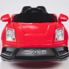 Lamborghini Style, Racer X, Kids Electric, 12V, Kids Ride on, Remote Control, MP3 Function, Red