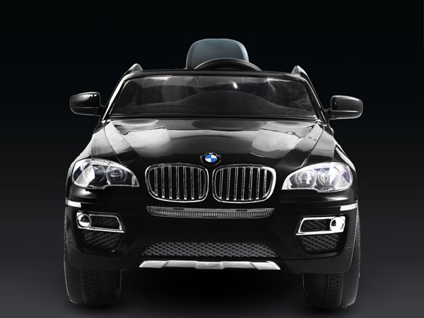 Licensed BMW X6 Kids Electric Car, 12V, Ride on, Remote Control, MP3 Function, Black