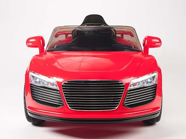 Audi R8 Style, Kids Electric Car, 12V, Ride On, Remote Control, Seatbelt, Mp3 Hookup, Red