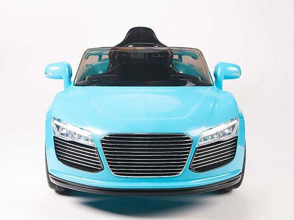 Audi R8 Style, Kids Electric Car, 12V, Ride On, Remote Control, Seatbelt, Mp3 Hookup, Blue