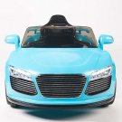 Audi R8 Style, Kids Electric Car, 12V, Ride On, Remote Control, Seatbelt, Mp3 Hookup, Blue