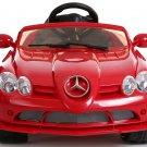 Licensed Mercedes Benz SLR McLaren 722S, Kids Ride on Car, 12V, Electric, Remote, Seatbelt, Mp3, Red