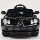 Licensed Mercedes Benz SLR 722S, Kids Ride on Car, 12V, Electric, Remote, Seatbelt, Mp3, Black