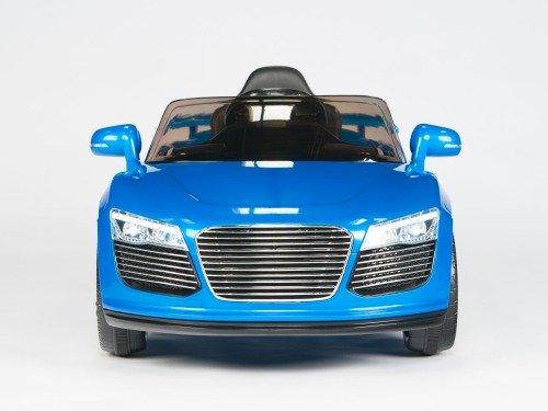Audi R8 Style, Kids Ride on Electric Car, 12V, Remote Control, Seatbelt, Mp3 Hookup, DK Blue