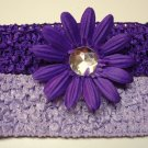 Large Gerbera Daisies- Purple