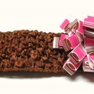 Bitty Baby Bow Headand- Hot Pink and Brown