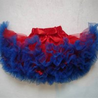 Red and Blue Pettiskirt