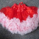 Red and White Pettiskirt
