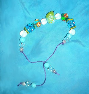 FROG BRACELET-ADJUSTABLE