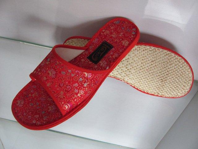 Handmade women cloth Casual slippers