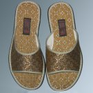 Handmade men`s cloth Casual slippers