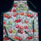 1 NWT ADULT GOURMET APRON APPLES APPLE