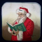15  EIGHT INCH POTHOLDER PANELS SANTA NAUGHTY OR NICE