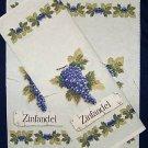 1 WINE BOTTLE/GIFT BAG FABRIC PANEL ZINFANDEL