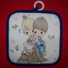 1 NEW PRECIOUS MOMENTS LOVE ONE ANOTHER POTHOLDER