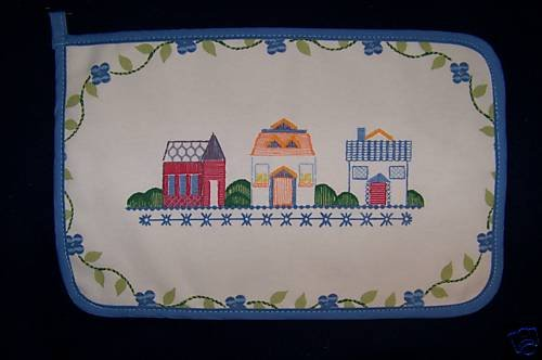 "LENOX VILLAGE  9"" X15 TABLE MAT /  HOT MAT NEW"