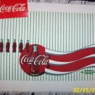 COCA COLA COKE 4 WOVEN FIRST QUALITY PLACEMATS NWT