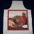 1 SOUTHWESTERN MARKET CHILI PEPPER APRON PANEL