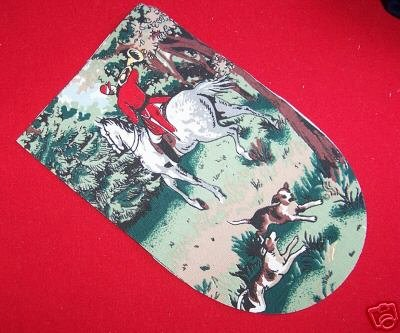 15 NINE INCH PUPPET OVEN MITT PANELS HORSE AND HOUND