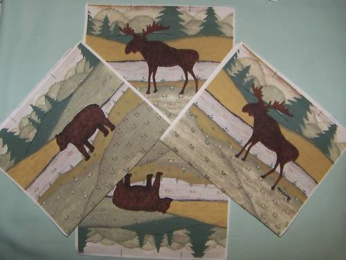10 GIFT BAG SEWING PROJECT MOOSE BEAR