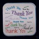 "15 POTHOLDER PANELS THANK YOU  THANK YOU THANK YOU 6.5"""