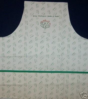 APRON SEWING PROJECT, 1GARDEN OF HERBS APRON PANEL, NEW