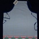 1 NWT ADULT GOURMET APRON MARY ENGELBREIT GINGHAM CHECK