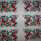 ONE FABRIC PANEL 6 SETS OF OVEN MITTS TOPS CARDINALS