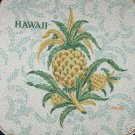 15 POTHOLDR PIECES GREEN & GOLD PINEAPPLE HAWAII,
