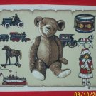 4 SMITHSONIAN INSTITUTION TEDDY BEAR PLACEMATS