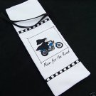 MOTORCYCLE NUN FOR THE ROAD 1 WINE /BOTTLE/GIFT BAG