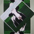 GIFT BAG SEWING PROJECT HOLSTEIN COW 10 FABRIC PANELS