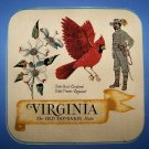 "15  EIGHT""  POTHOLDER PANELS VIRGINIA CARDINAL DOGWOOD"